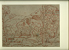 Rysdale Hall from the Wood: John Ruskin