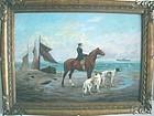 Seashore Horseback Ride with Dogs: Jef V Leemputten