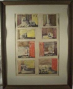 Sketch Collection of Works: Litho: Henry Moore