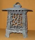 Antique Japanese Bronze Garden Lantern C.1920