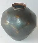 Antique Japanese Signed Gyokusen-do Dochu Flower Vase