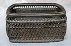 Antique Japanese Tea Ceremony Charcoal Basket C. 1890