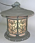 Antique Japanese Bronze Lantern C.1930