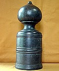 Antique Japanese Edo Period 1850-1867 Temple Bronze