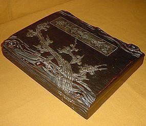 Fabulous Lacquered Meiji Period Writing Box c.1875