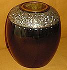 Luscious Japanese Antique Lacquered Vase c.1920