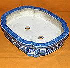 Antique Meiji Period C.1890 Japanese Bonsai Tray