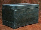Inkstone Box with Beautiful Deep, Dark Paulownia Grain