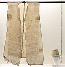 Rare Sangbok Set, Hemp Mourning Robe and Mourning Hat