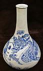 Fine 19th Century Porcelain Dragon Jar