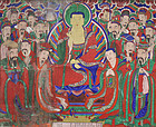 Large Temple Painting of the Bodhisattva of Hell