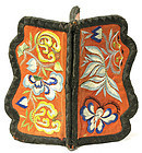 Gorgeous Embroidered Wallet w/ Flowers and Butterflies