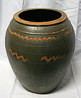 Antique Onggi Grain Jar from Chuncheong Province