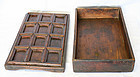 Very Rare Korean Antique Snack Serving Tray