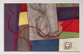 Korean Contemporary Bojagi Textile Art by Won Ju Seo