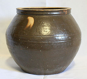 Antique Onggi Seed Jar from Gyeongsang Province