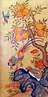 Beautiful Example of Hwajodo, Bird and Flower Painting