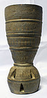 Rare 6th Century Silla Shaman's Cup with Jingling Bells in the base