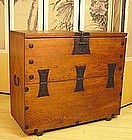Korean Chest of Pine and Iron