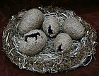 Nesting Instincts by Korean Basket Artist Joun Sungnim