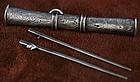 Fine Eunjangdo Woman's Dagger & Chopsticks