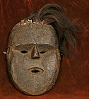 West Nepalese Mask with Yak Hair