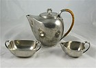 Just Andersen Pewter Tea Set