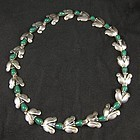Very Early Taxco Silver Necklace
