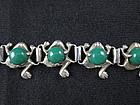 Parra Mexico Silver Frog Bracelet