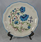 Longwy French Faience Plate 10""