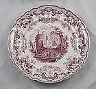 Ridgway Pomerania Transferware Plates Set 12