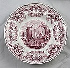Ridgway Pomerania Transferware Soup Plates Set 9