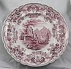 Transferware Ridgway Pomerania Luncheon Plates Set 10