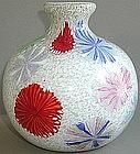 Rare 1950s AVEM Pinwheel Murrine Vase by Dino Martens