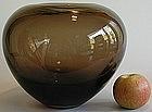 Huge Flavio Poli Seguso Vetri d'Arte 1950s Murano Vase