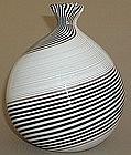 Fine 1950s Murano Dino Martens for Aureliano Toso Vase