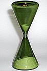 Graceful 1950s Venini Murano Clessidre / Hourglass