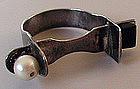 Vintage Artisan Constructivist Man's Ring