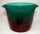Green Antique English Glass Wine Rinser  1815