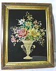 A Striking Tinsel Painting 19th C