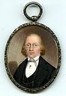 American Miniature Portrait  c1840