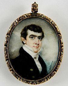 Henry Williams Portrait Miniature c1825
