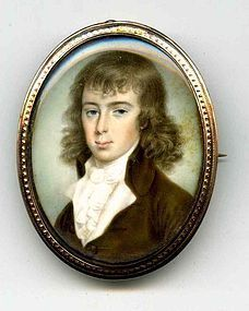 Miniature Painting by Patrick McMorland c1785