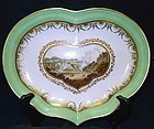 Derby Porcelain Dish by Boreman c1795