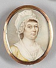 Philip Jean Miniature Portrait c1795