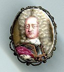 Very Early and Rare Peter Boy Portrait Miniature c1690