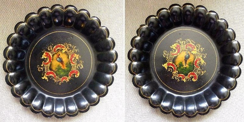 A Rare Pair of Wine Decanter Coasters 19th C