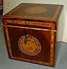 Beautiful English Tea Caddy  c 1790