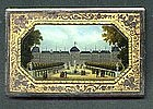Aide de Memoir with Reverse Painted Scene; C 1860