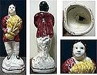 "English Pottery Figure of ""Summer""; C 1770"